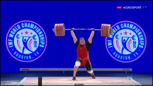 Тяжелоатлет Ловчев установил новый мировой рекорд