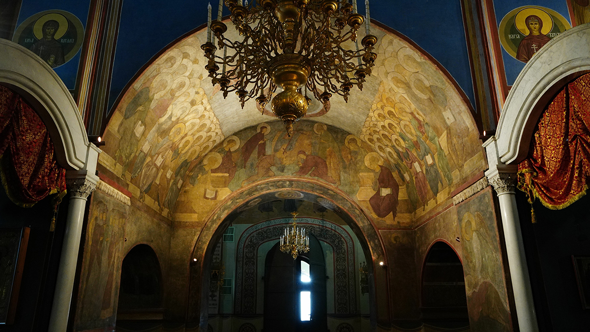 Фрески Андрея Рублёва и Даниила Чёрного в Успенском соборе Владимира осветили по-новому
