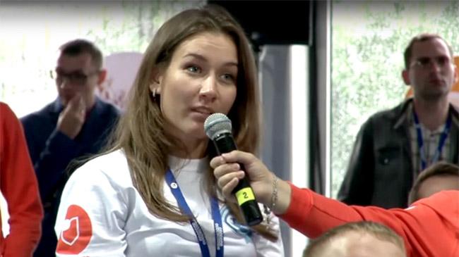 Депутат Заксобрания Ростовской области упрекнула красноярку заiPhone после вопроса обипотеке