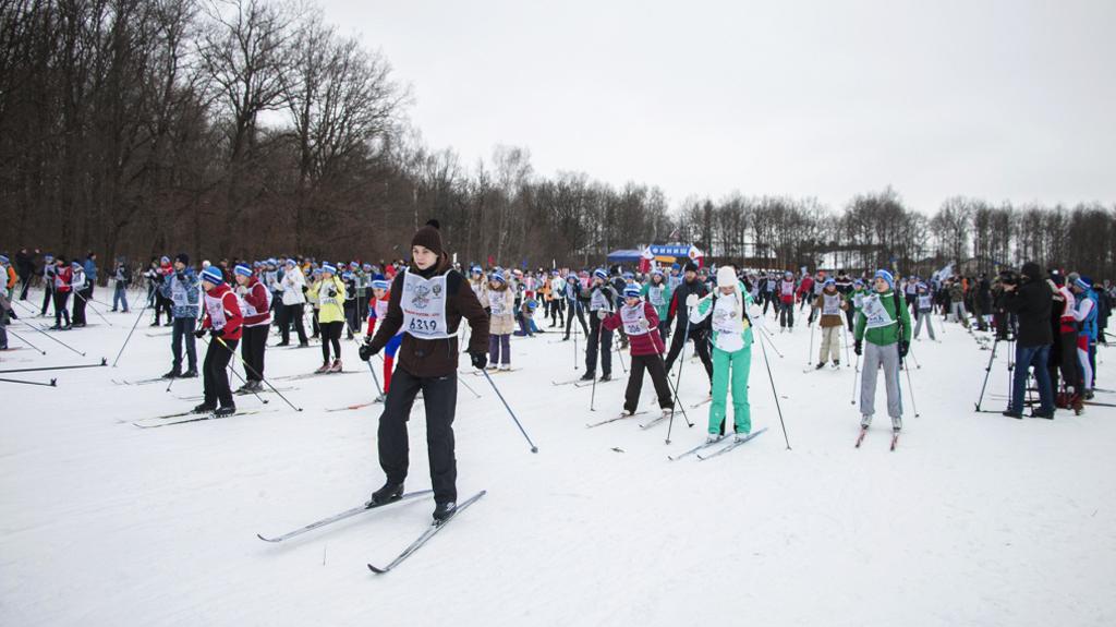 ВНовомосковске пройдет местный этап «Лыжни РФ - 2017»