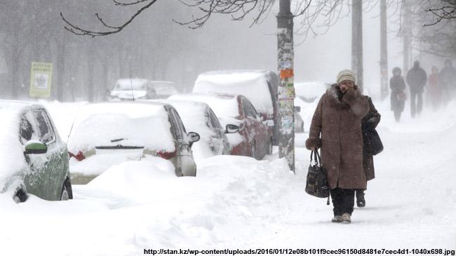 ВоВладимире ночью будет сильный снегопад