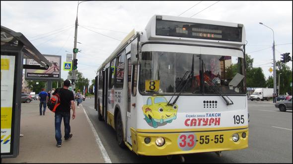 схема движения транспорта: