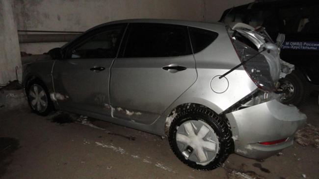 ВГусь-Хрустальном районе трое пассажиров напали натаксиста