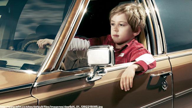 Где-то загородом очень недорого ребенок купил автомобиль