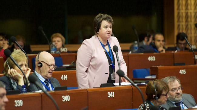 Губернатор Марина Ковтун учавствует в съезде Совета Европы вСтрасбурге