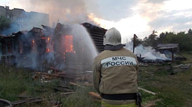 ВКамешковском районе впроцессе пожара погибли три человека