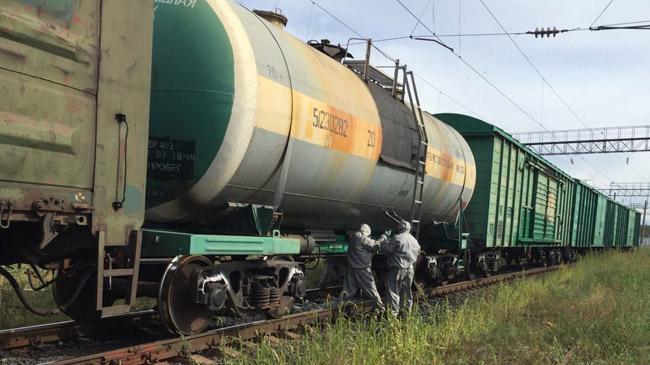 Нажелезной дороге под Муромом произошла химическая авария