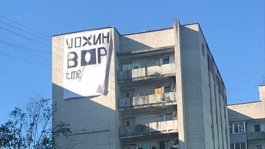 Анонимы включились в избирательную кампанию под антишохинским лозунгом