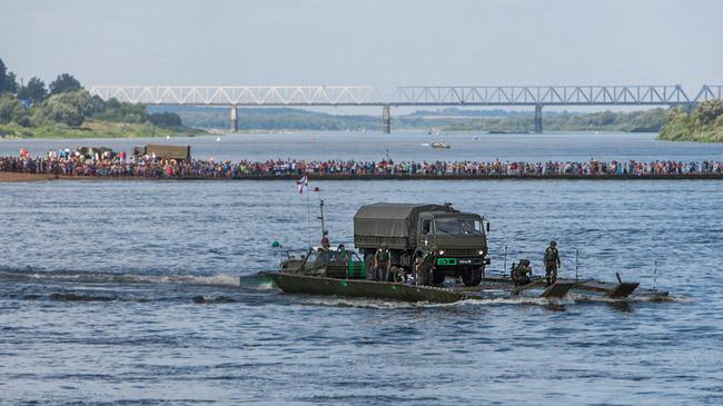 Русские военные победили на интернациональных соревнованиях «Открытая вода»