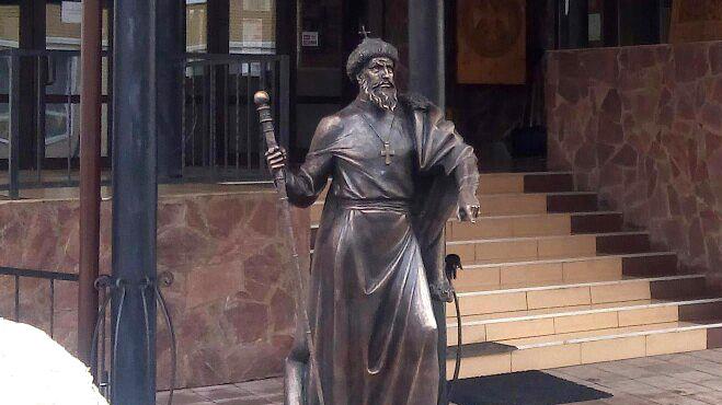 Монумент Грозному вАлександрове откроют 29апреля