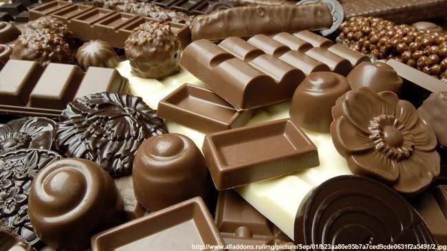 33 вошел в 10-ку крупнейших экспортеров сладостей