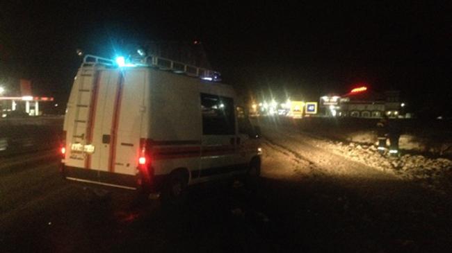 Под Владимиром столкнулись большегруз иавтобус с25 пассажирами