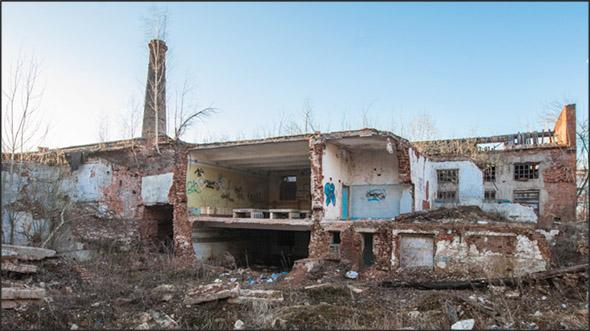 Руины льнопрядильной славы Вязников