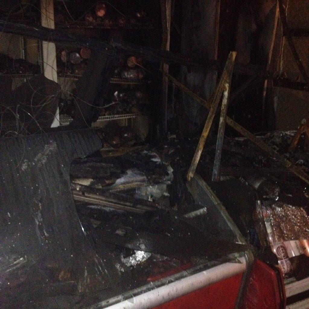 Владимирские торговые центры небудут проверять после пожара нарынке «НаЧайковского»