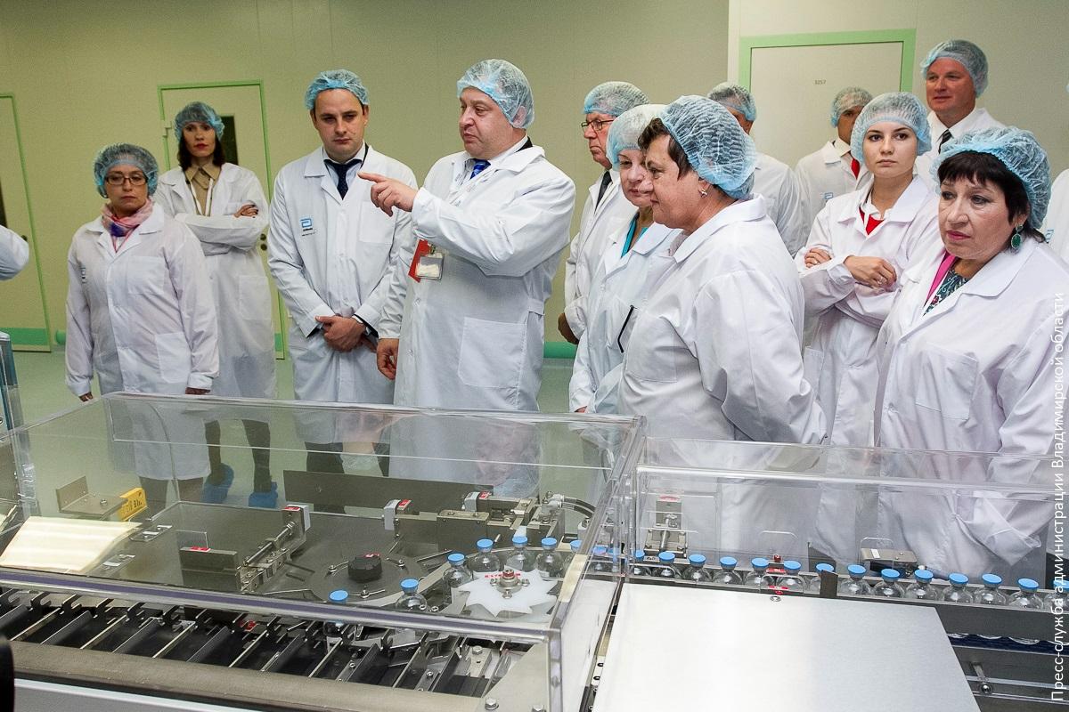 Abbott открыла собственный завод вПетушинском районе