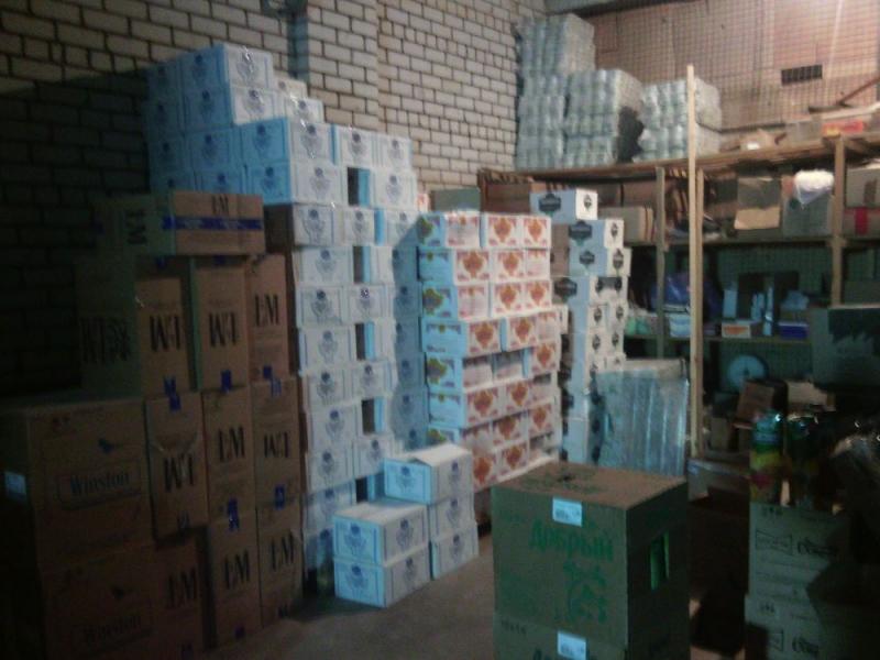 ВКоврове изъяли свыше 8 тыс. бутылок «паленого» алкоголя