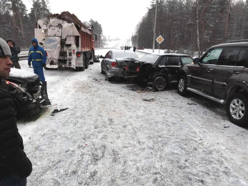 ВоВладимирской области участниками ДТП стали 5 авто