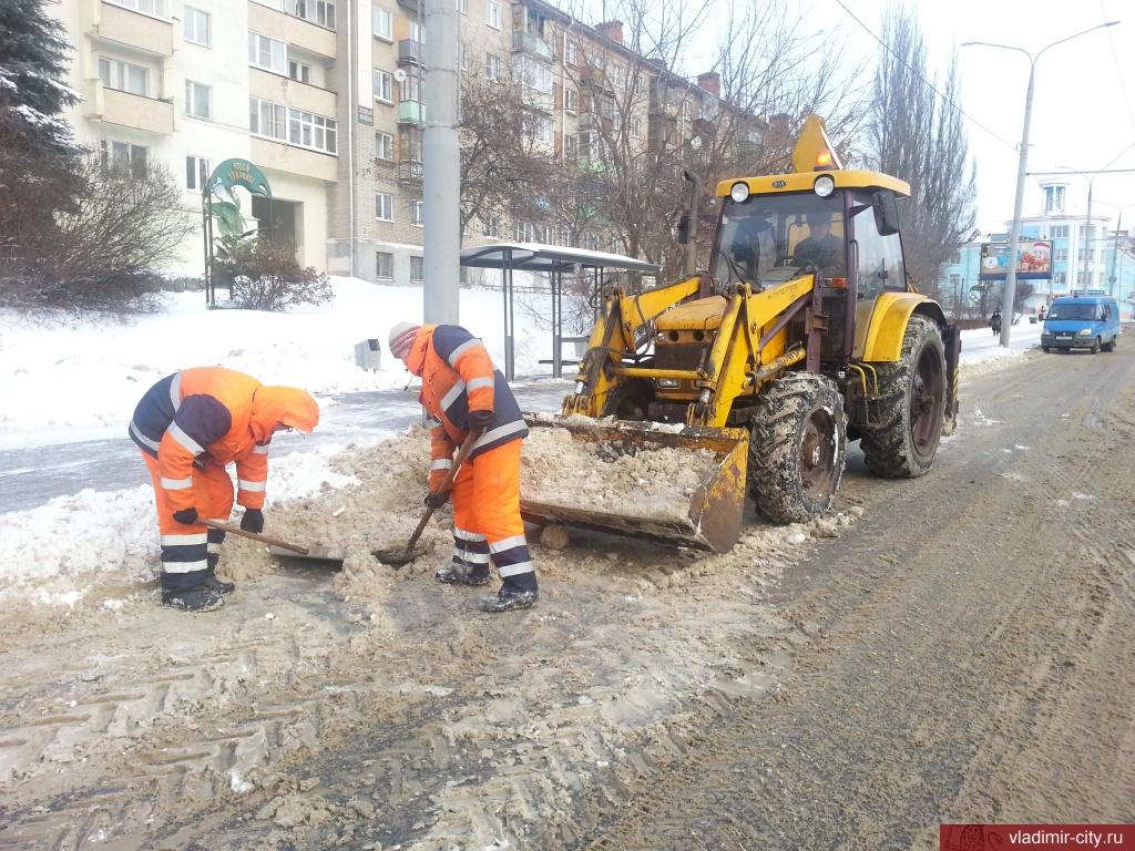 Владимирскую область накроет снегопад