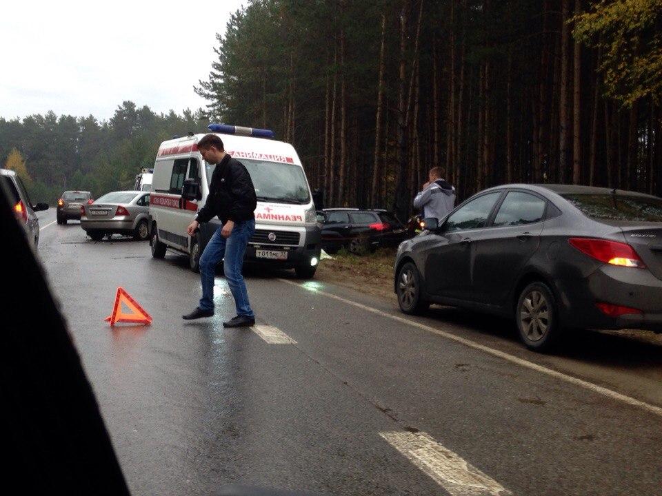 Влобовой трагедии около Улыбышева умер 1 человек, 1— тяжело пострадал