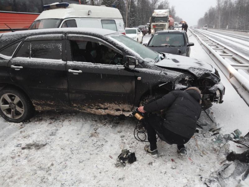 ВоВладимирской области вмассовом ДТП пострадал ребенок