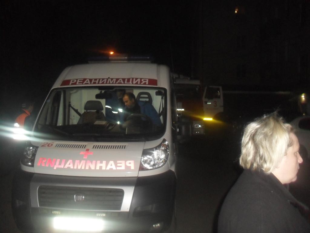 ВоВладимире впроцессе пожара вдоме спасли 22 человека